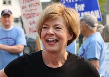 Tammy Baldwin would be the ideal vice presidential choice for Joe Biden