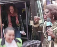 Bob the Drag Queen literally hauled LGBTQ people to the polls on Election Day