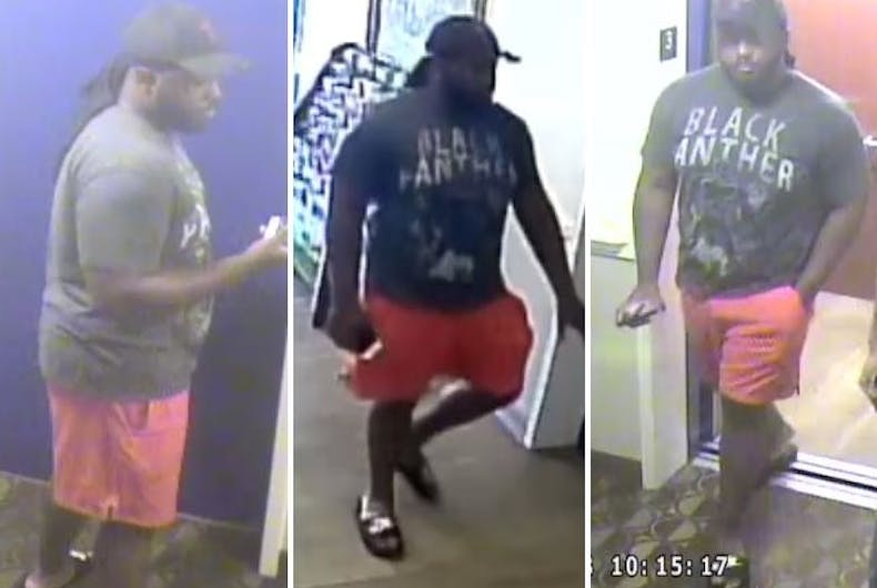 Police are searching for this man, who allegedly sexually assaulted someone at a Marietta extended stay hotel in October.