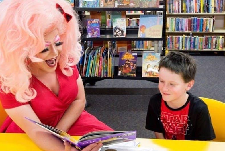 drag queen, Drag Queen Story Hour