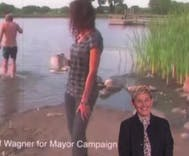 Ellen highlights some of the most hilarious campaign ads in American history