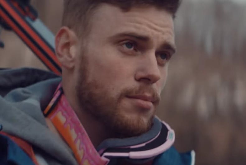 Gus Kenworthy is a champion at voting.