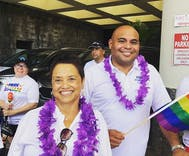 Great day in Guam: First female governor & first gay lt. governor elected