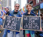 A UK child health group wants healthy LGBTQ relationships taught in schools