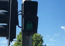 These new 'same-sex crosswalk signals' are going up & they are adorable