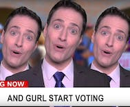 Randy Rainbow wants you to vote & he's being 'Wicked' to prove it