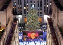 The Christmas tree in Rockefeller Center is making this a gay holiday season
