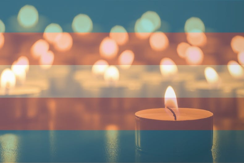 The Trans Day of Remembrance is held on November 20.