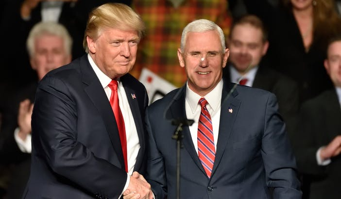 Trump has been questioning Pence's loyalty, according to White House advisors