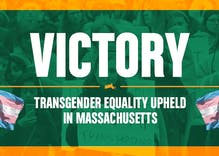 Massachusetts voters reject right wing attempt to strip trans people of civil rights