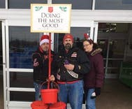 White supremacists are ringing bells for the Salvation Army in Indiana