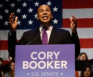 Senator Cory Booker denies that he's gay