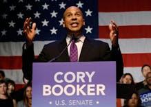 Senator Cory Booker denies that he's gay