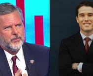 Jerry Falwell Jr & his wife met a young pool boy on vacation. Then they started 'helping' him.