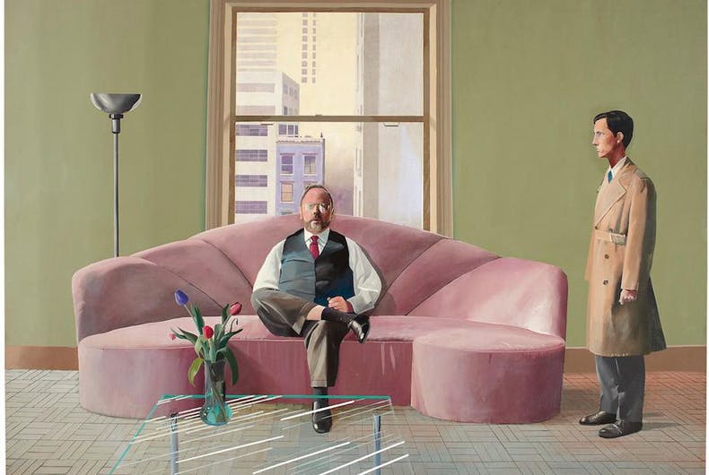 The David Hockney painting,