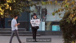 3 blindfolded queer Mongolians asked for hugs on the street. Something amazing happened.