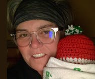 Rosie O'Donnell is a grandma now & her grandbaby is freakin' adorable