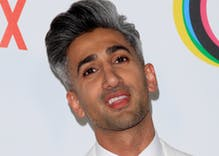 Why is the TSA targeting Queer Eye star Tan France as a 'security risk'?