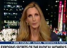 Ann Coulter says Democrats are all 'black church ladies with the college queers'