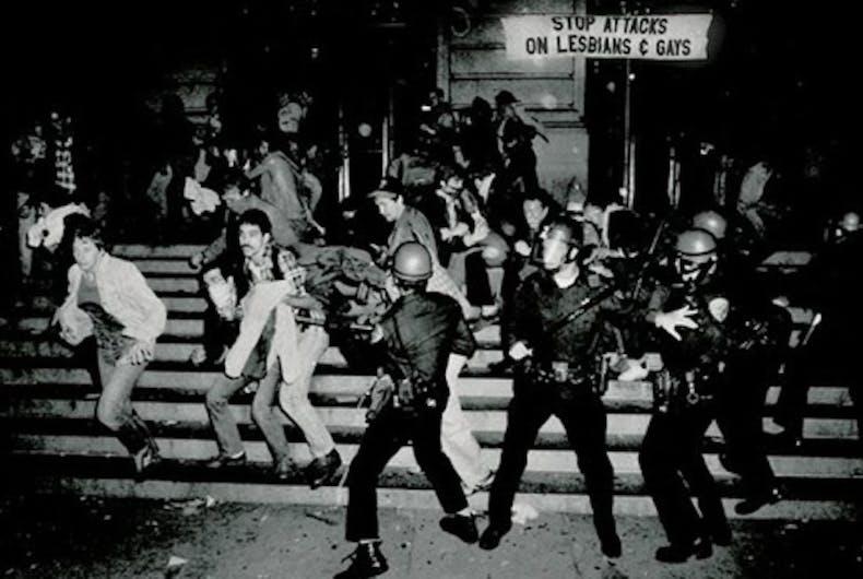 Judy Bowen, Stonewall riots