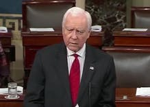 Sen. Orrin Hatch urges Republicans to support LGBTQ equality in farewell address