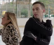 Watch Adam Rippon teach Samantha Bee how to skate. Sorta.