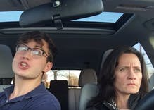 Broadway-bound teenager who went viral is back. His mom is still unimpressed.
