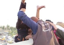 ISIS threw gay men off a tower to execute them. Now the building is being destroyed.