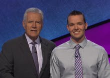 This out Jeopardy contestant won almost $100k. And our hearts.