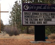 Neighbors won't tolerate church's anti-LGBTQ sign & they're taking to the streets over it