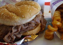 If you eat Arby's, Applebees, or JIF peanut butter, you're probably a conservative