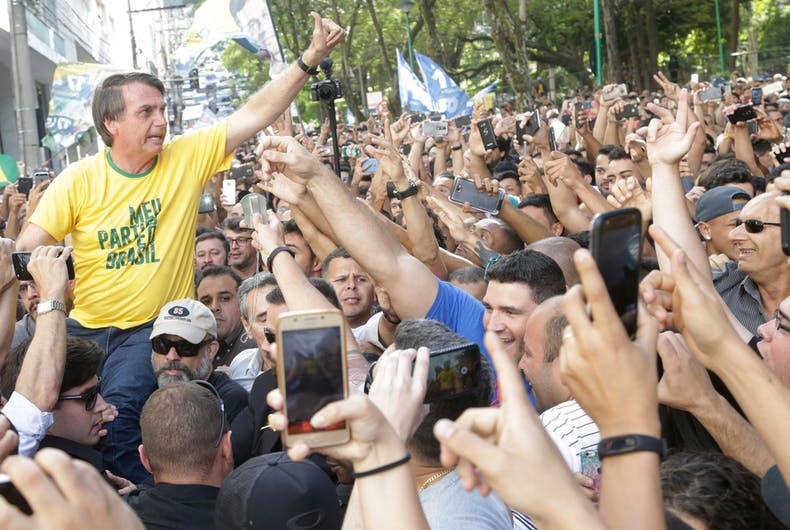 Jair Bolsonaro, Brazil, president, anti-gay, anti-LGBTQ