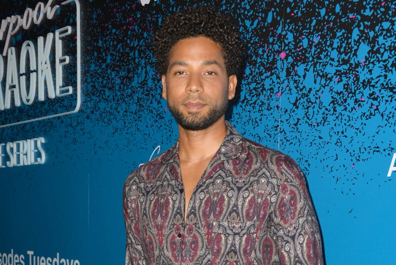 LOS ANGELES, CA - August 07, 2017: Jussie Smollett at the launch party for Apple Music's