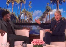 Kevin Hart returns the favor & defends embattled Ellen DeGeneres. It's not helping.