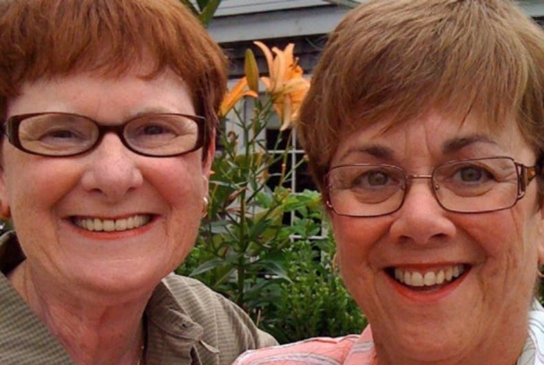 Mary Walsh and Beverly Nance