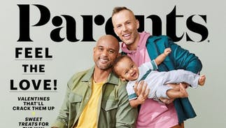 Conservatives are outraged a gay couple is on the cover of 'Parents' magazine