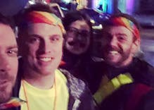 "After an Austin gay-bashing, a newly formed ""Rainbow Patrol"" stands up"