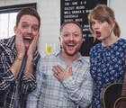 Taylor Swift surprised a gay fan at his engagement party & her fans are living for it