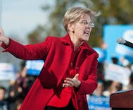 The GOP is jumping to condemn Warren but they're happy to ignore real insults to Native Americans