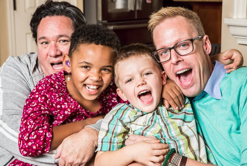 Gay dads may make better parents according to a major new study