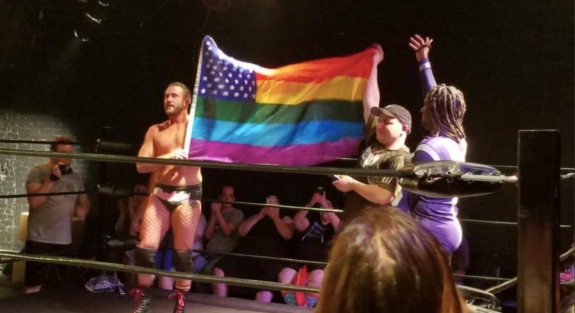 Many wrestlers like gay sex