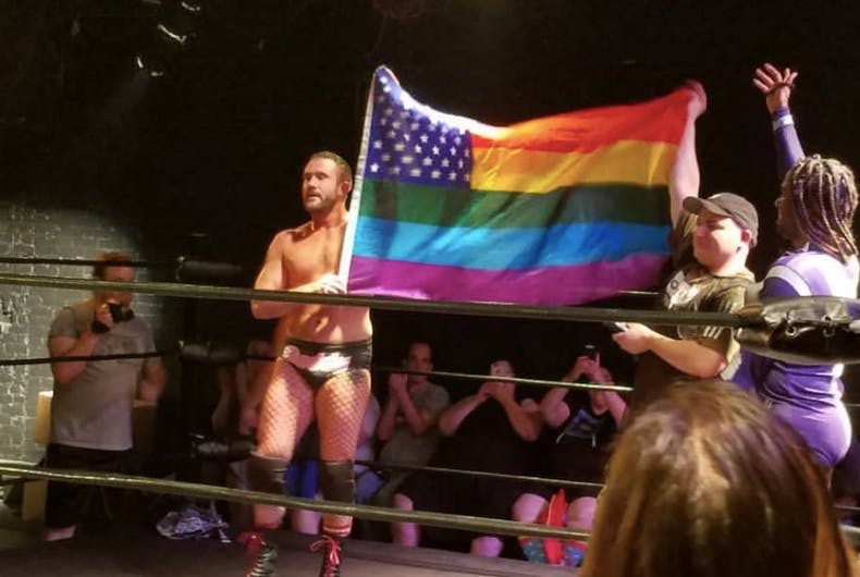 gay wrestling, A Matter of Pride, Rick Cataldo