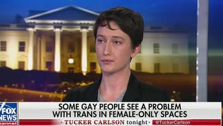 A lesbian appeared on Fox News & was praised as 'brave' for attacking trans people