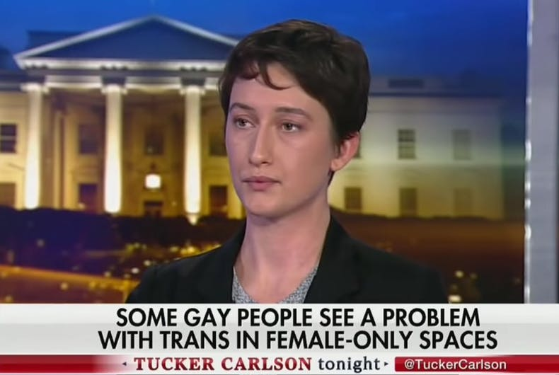 Julia Beck on Tucker Carlson's show