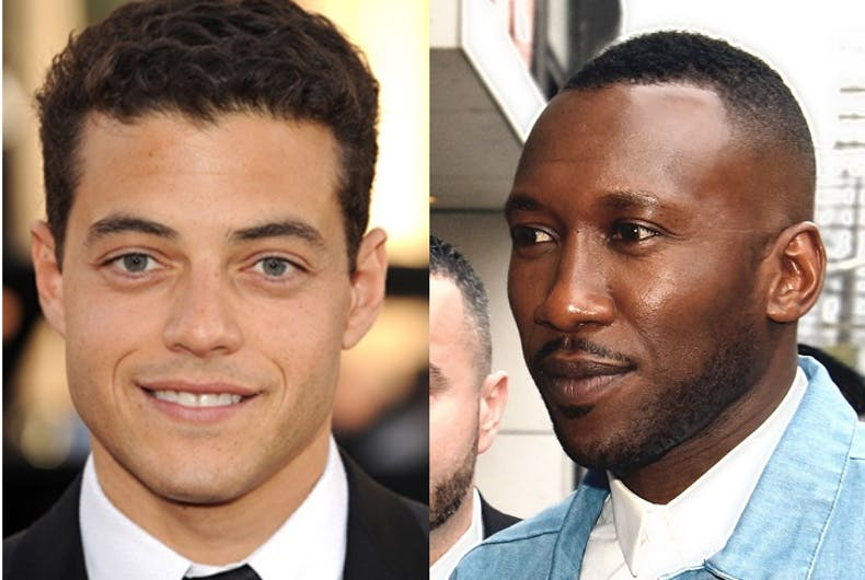 Rami Malek and Mahershala Ali
