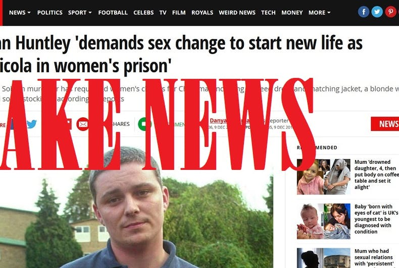 Radical 'feminists' & the religious right claim this murderer is transgender. It's a lie.
