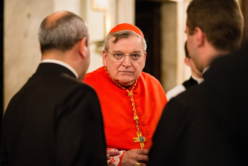 Catholic Cardinal Raymond Burke