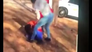 An 11-year-old lesbian was beaten up at school & it was caught on video