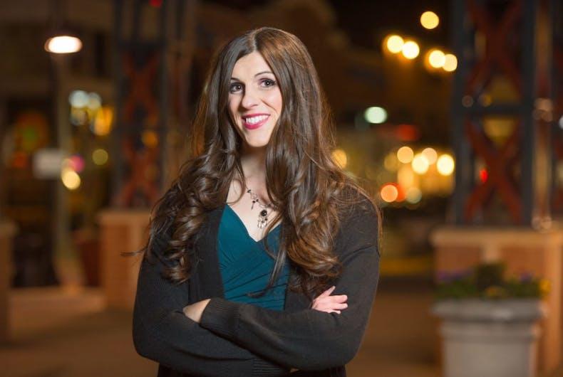 Virginia state delegate Danica Roem