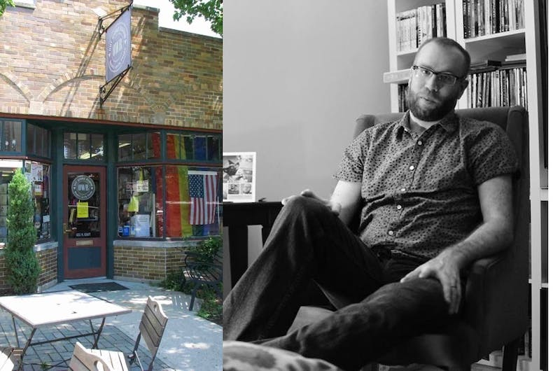 Joe Faust worked at Out Word Bound books in Indianapolis when a closeted gay man called seeking support